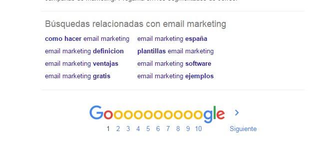 marketing contenidos para vender mas email marketing busquedas relacionadas google
