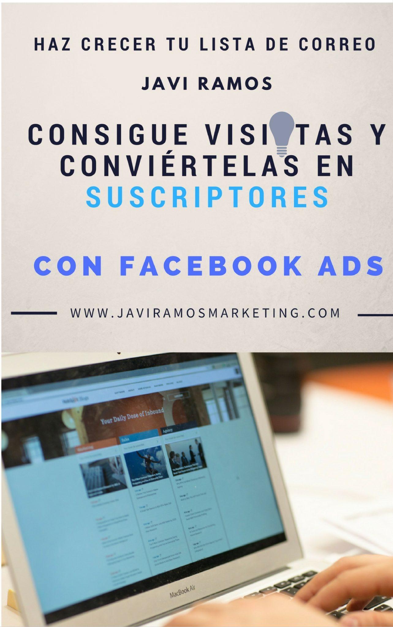 suscriptores con Facebook Ads