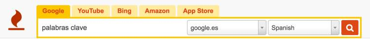 keyword tool buscador de palabras