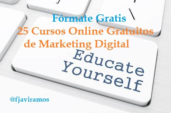 Cursos Gratis Online Marketing Digital Portada Texto