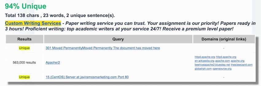 comprobar contenido plagiado plagiarisma dominios caducados