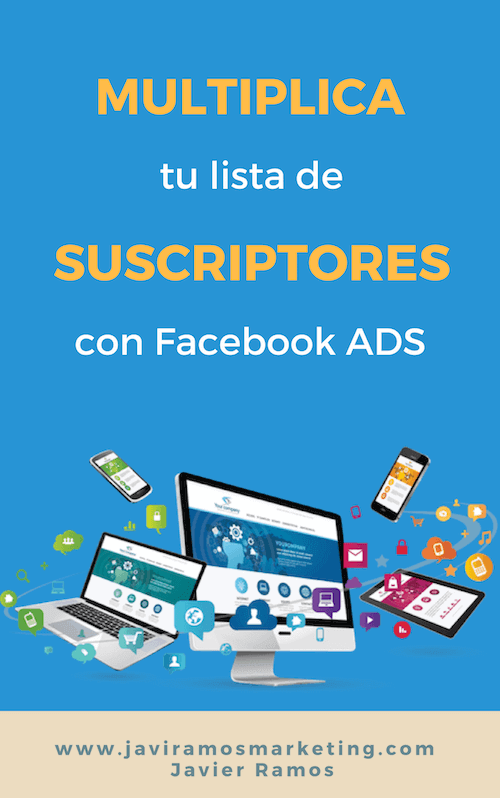 Portada ebook suscriptores FACEBOOK Ads