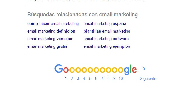 marketing contenidos para vender mas email marketing busquedas relacionadas google