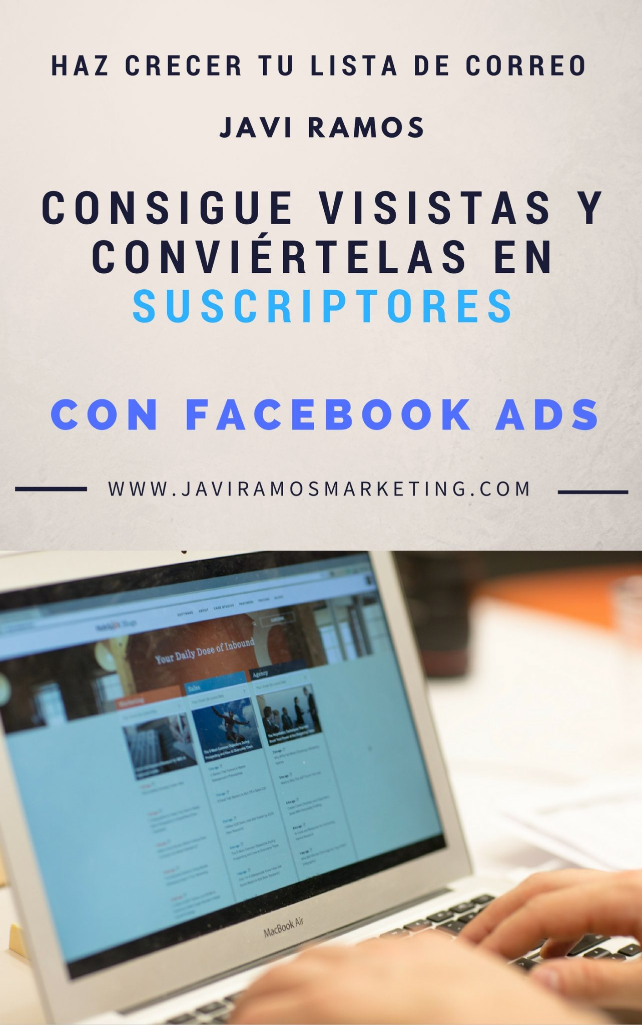 ebook suscriptores FB Ads