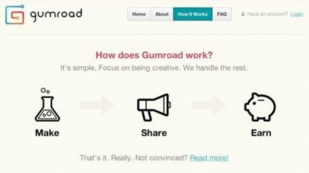 plataforma venta digital Gumroad